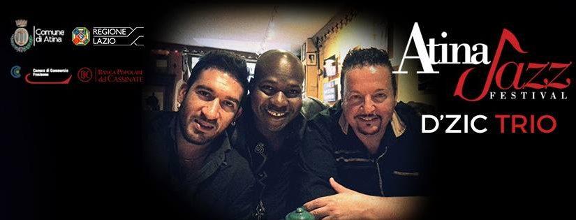 d'ZIC Trio con Carmine Ioanna @ Atina Jazz, 20 Luglio 2016